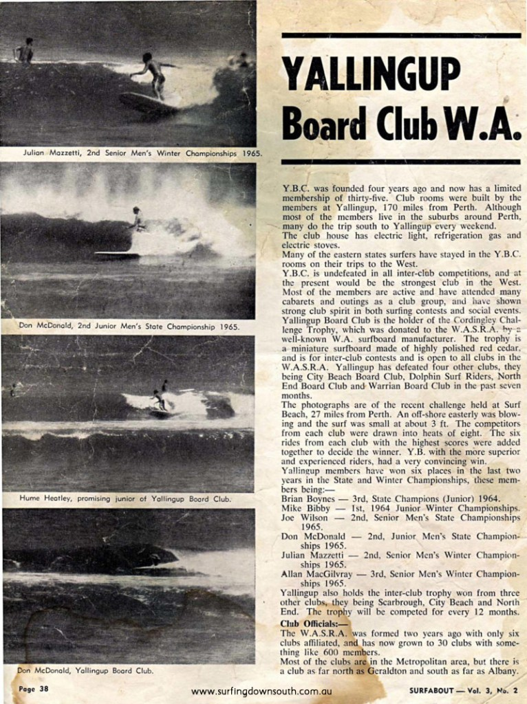 1966 Yalls Board Club - Surfabout Mag1