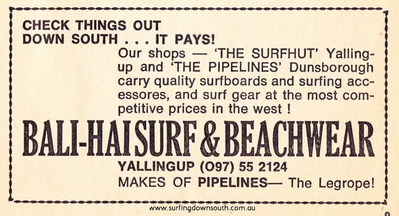 1976 Bali-Hai Surf Shop advt WASRA Spring Title Prog IMG_0001