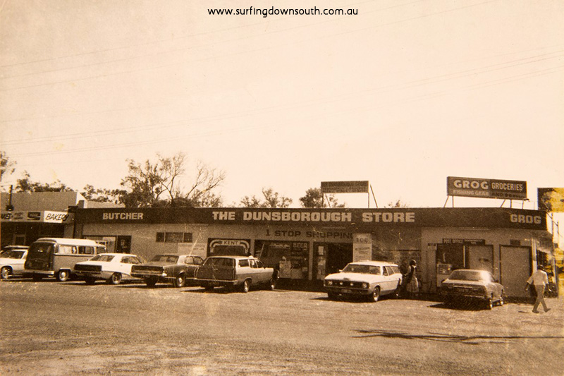 1977 Dunsborough Store. Jamie Scott pic