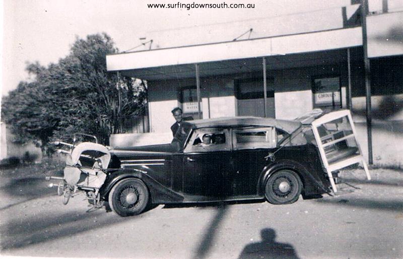 1953 Mandurah WA Stu & Rena & Mal Leckie 1st SW Holiday