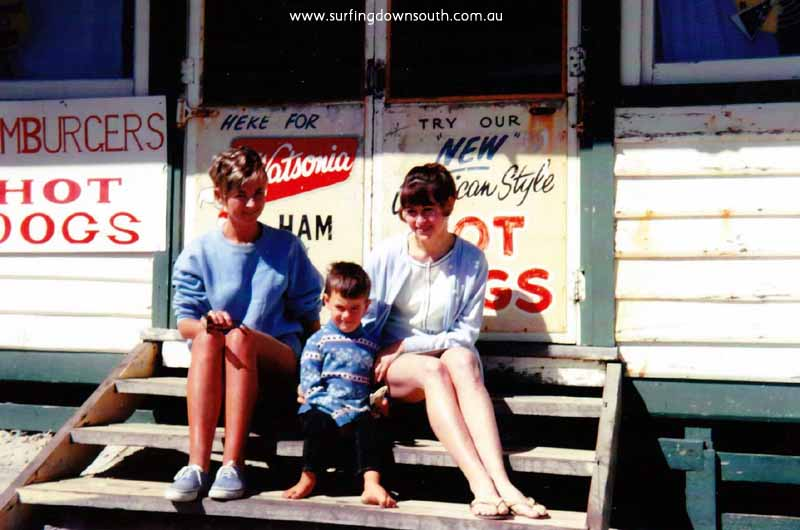 1964 City Beach Tea Rooms Sue Mac & unknown - Robyn Mac IMG_0006