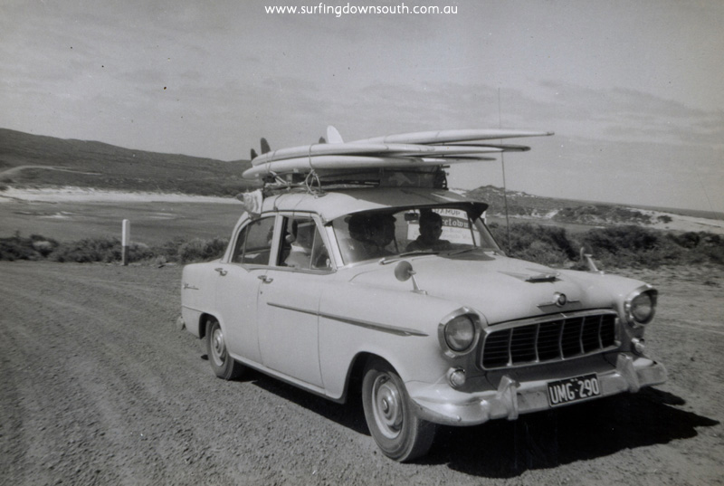 1964 Cowaramup Bay surf trip Bruce Brown's FC Holden - Arthur Sherburn pic img203