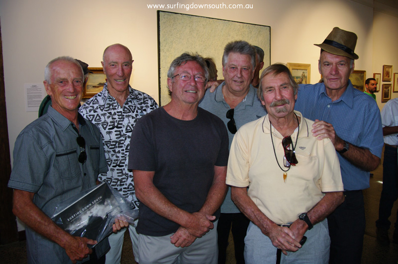 2014 SDS Book Launch IMGP3937 L-R Jim King, Kevin Merifield, Kevin Ager, Jim 'Lik' McKenzie, Peter Dyson & Ray Nelmes