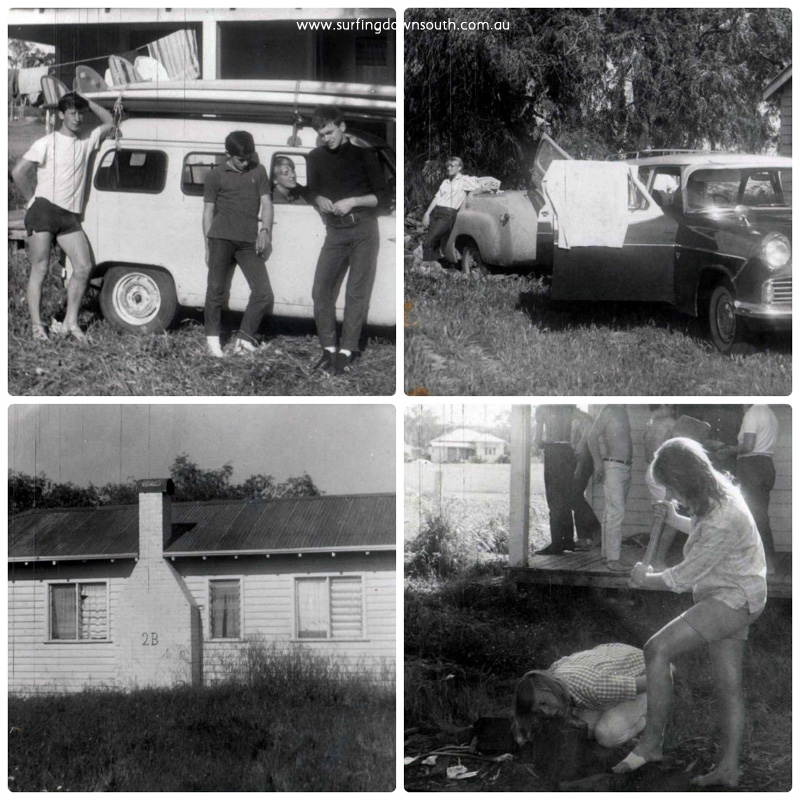 1964 Greenacres Cottages Dunsborough Ron Moss pics 1 collage_photocat