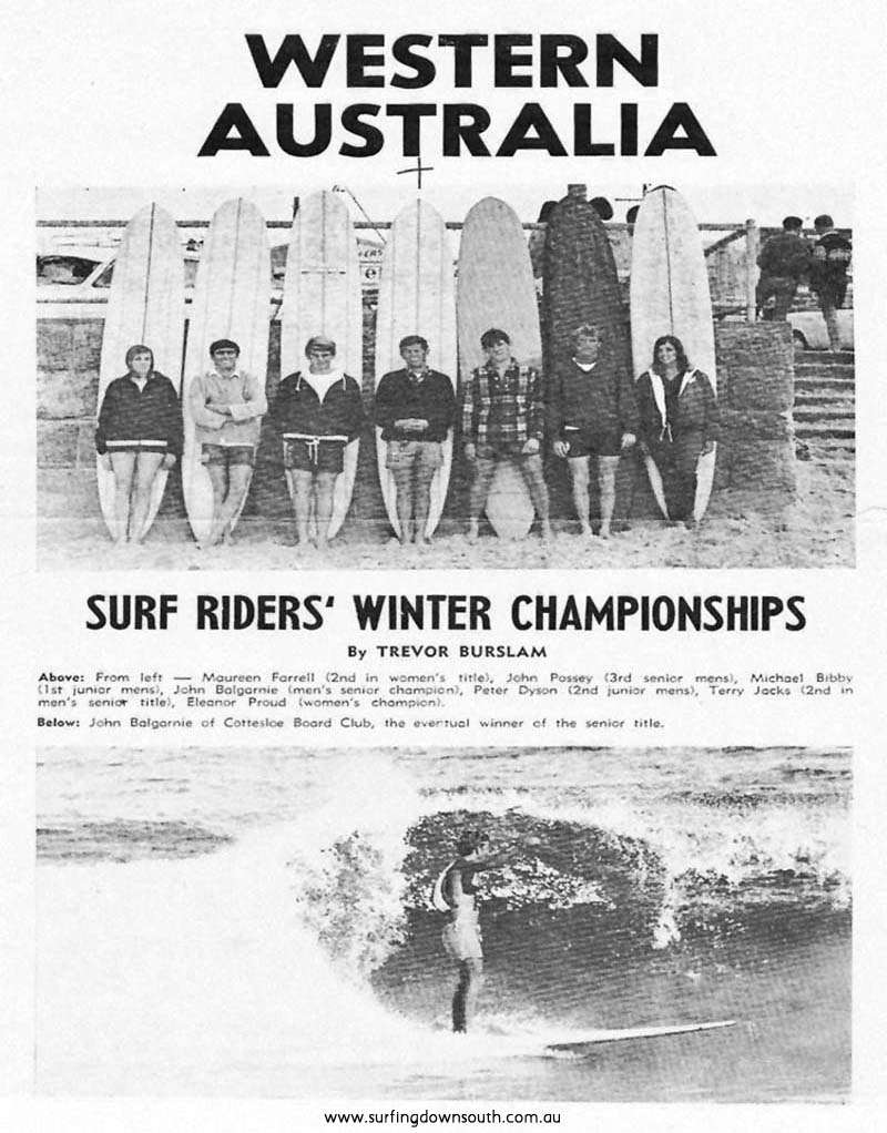 1966 WA Winter Champs at Scarborough ex Surfbabout Magazine Vol 3. No 7. IMG_01