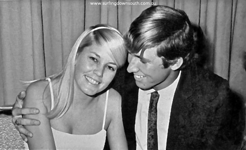 1969 Surfers Ball Penny & Brian Cleaver