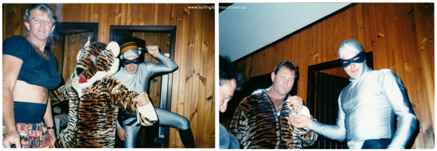 1976 Yalls party Robbo Peter Dyson & Prive collage_photocat