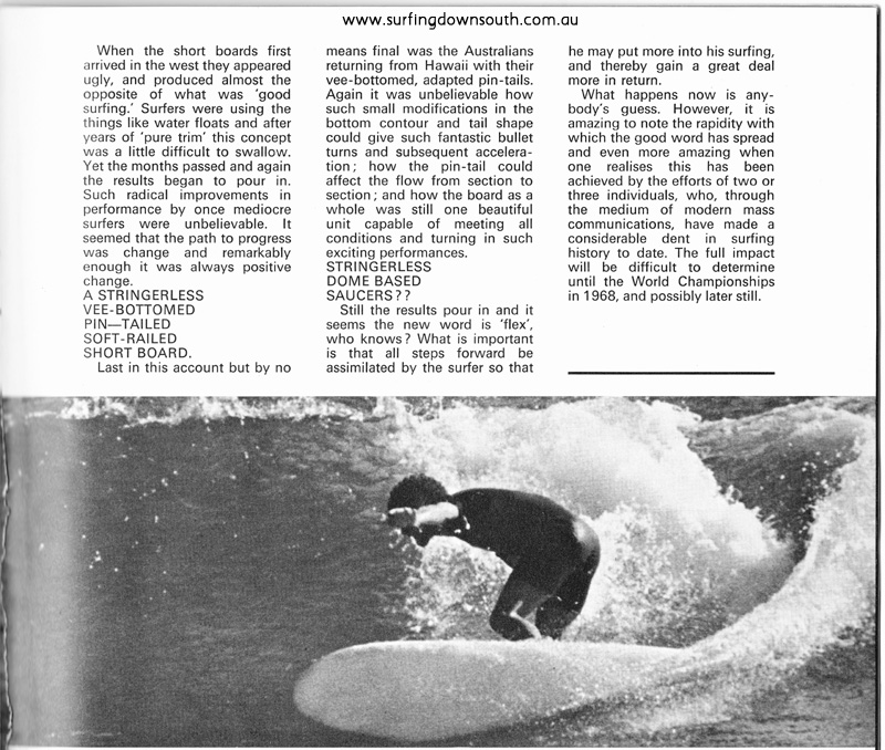 1968 Gregl Wynne Trigg Surf International Mag - Greg Woodward pic