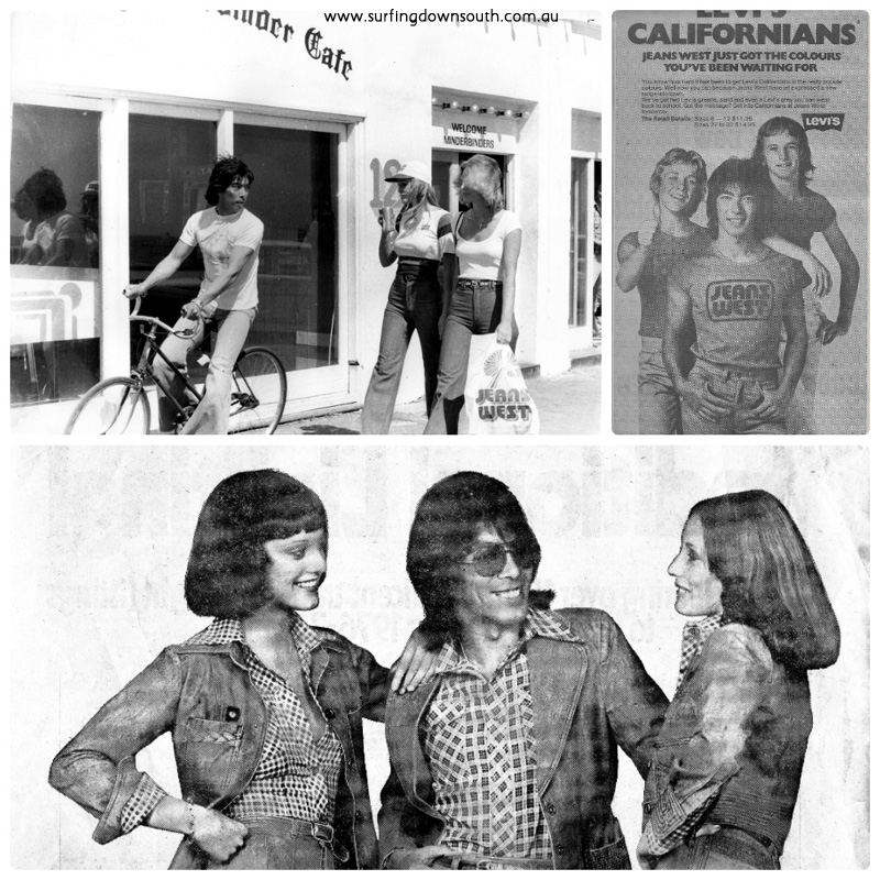 1976 Jeans West advts Ric Chan 5 collage_photocat