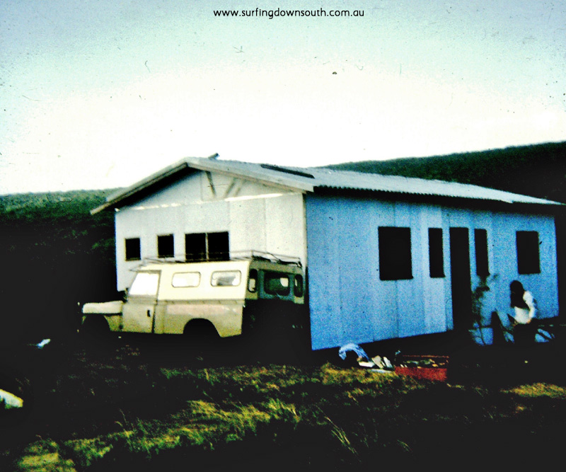 1967 Marg River Prevelly Nth End Shack Geoff Culmsee Landrover - MS Pic4