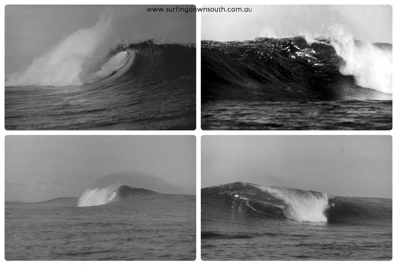 1970s Lancelin waves water shots Ric Chan collage_photocat