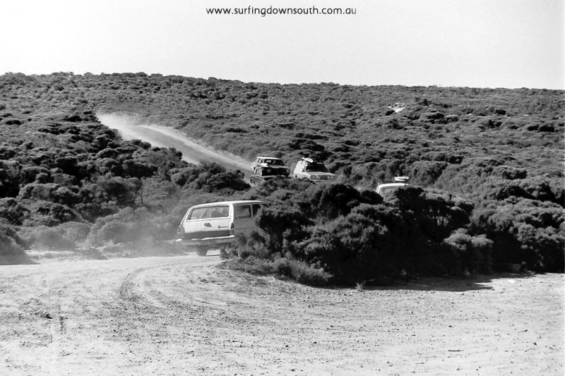 1976 Marg River Surfers Pt car park  - Ric Chan 006