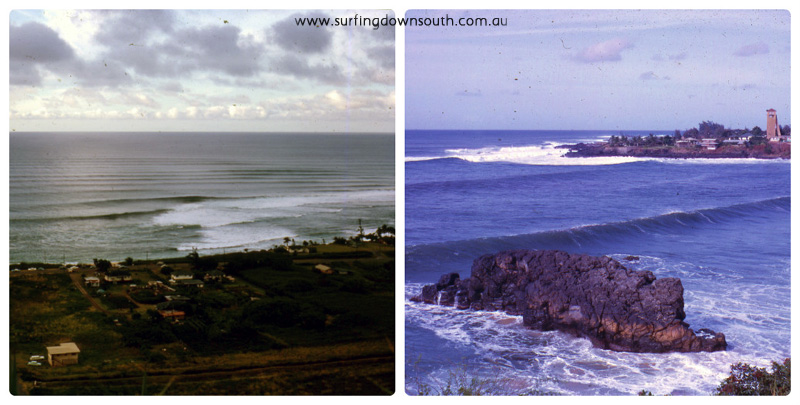 1963 Hawaii Sunset & Waimea Beaches - Brian Cole collage_photocat