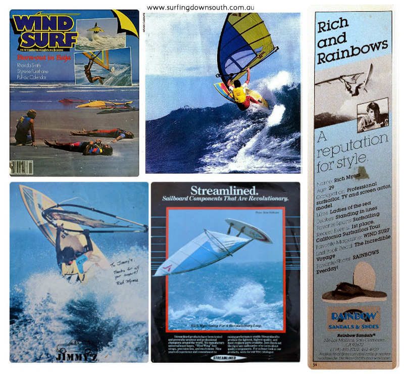 1980s Rich Myers wind surf pics 7 collage_photocat