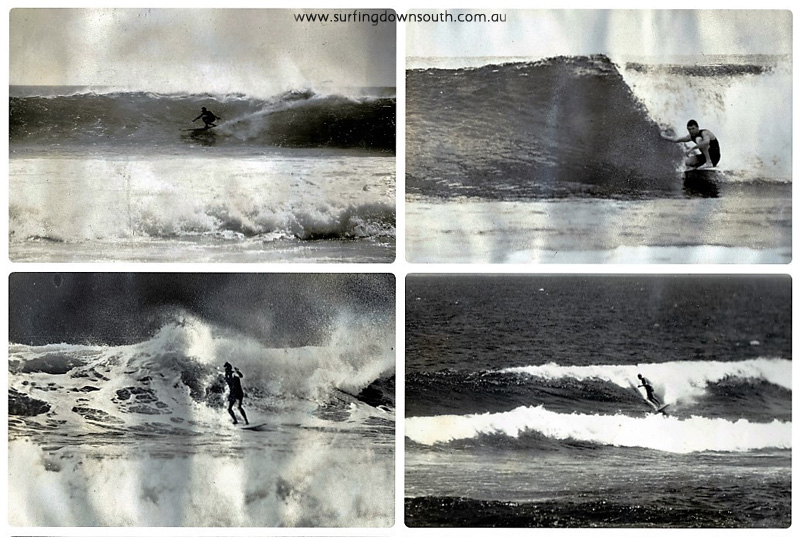 1960s SW Peter Dyson surfing pics collage_photocat