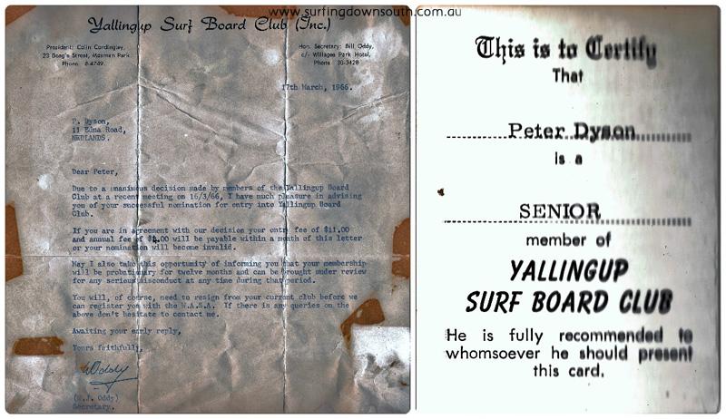 1966 YBC membership Peter Dyson 2 collage_photocat