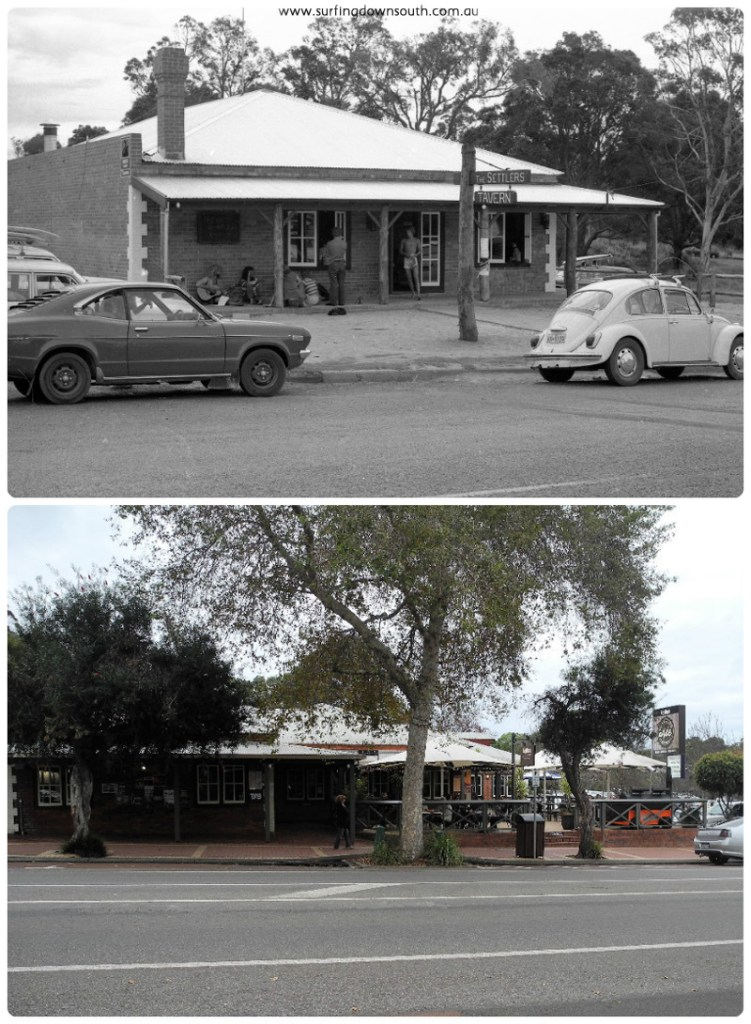 1977-2016 Settlers Tavern Marg River then & now #2 collage_photocat