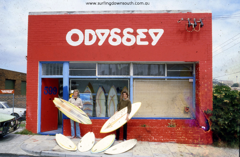 1980s West Perth Odyessy Surfboards Gus Simpson & Bruce Smith - Ric Chan img772