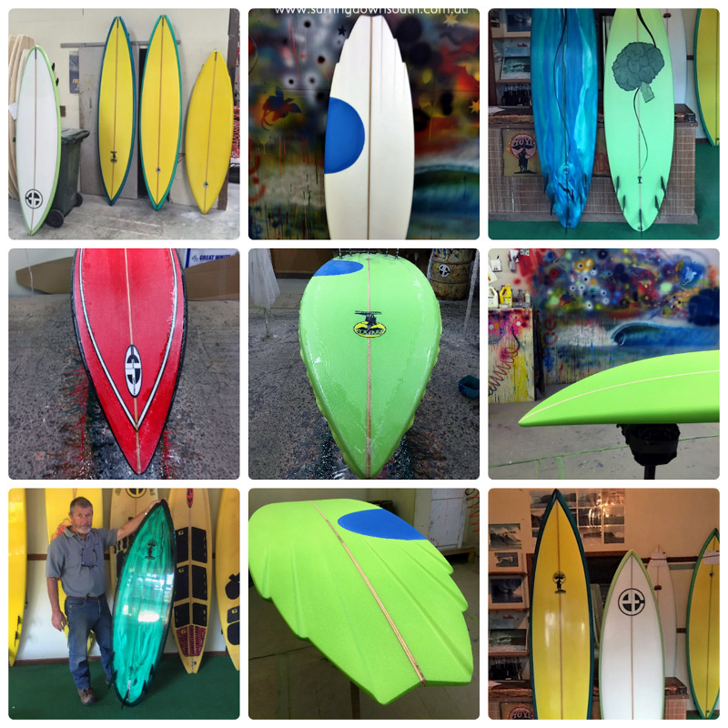 2016 Tom Hoye surfboards 4 collage