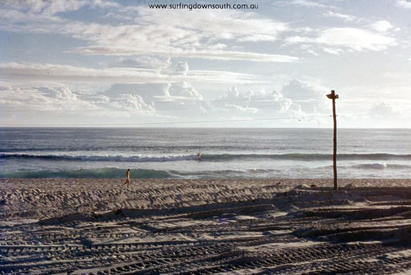 1969 Scarb Beach winter wave - Jim Breadsell pic