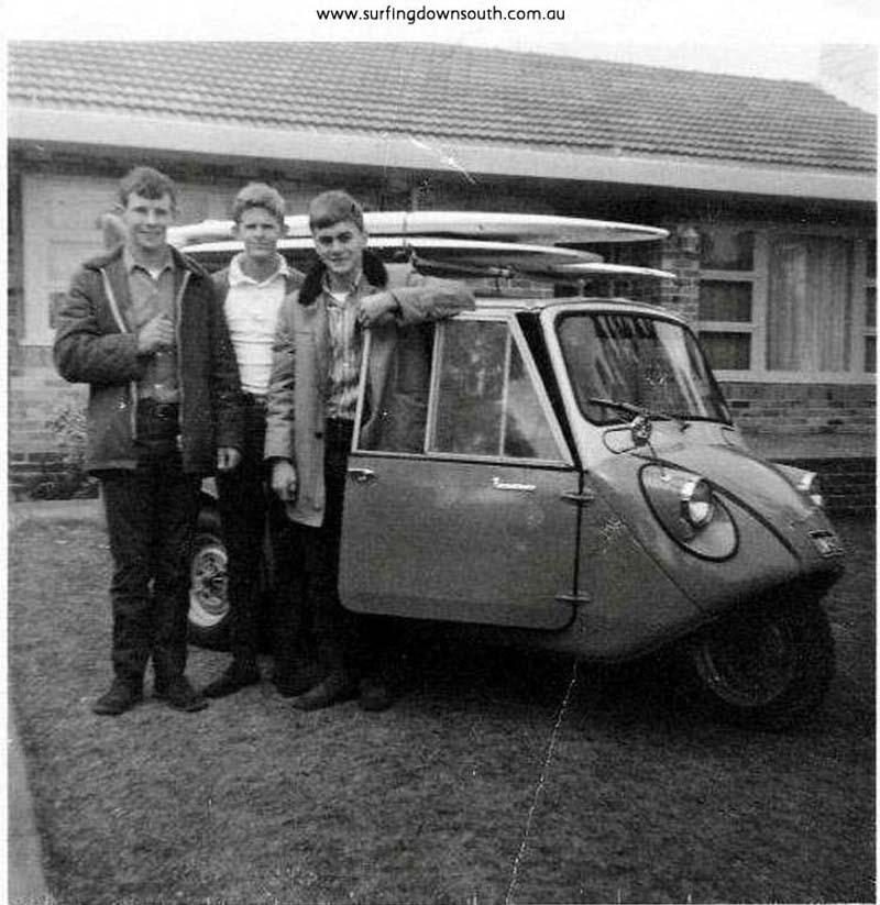 1960s Surf Trips Down South: 1965 Geoff Baxter's Messerschmitt