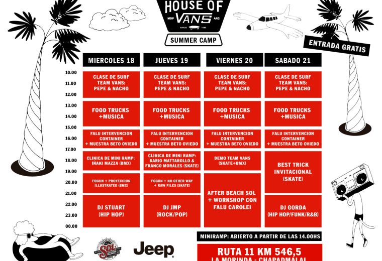 House of Vans Summer Camp