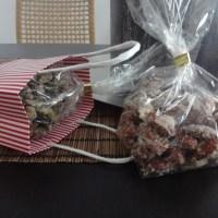 geschenke aus der küche - gebrannte mandeln und kürbiskerne