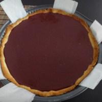schokoladen-himbeer tarte