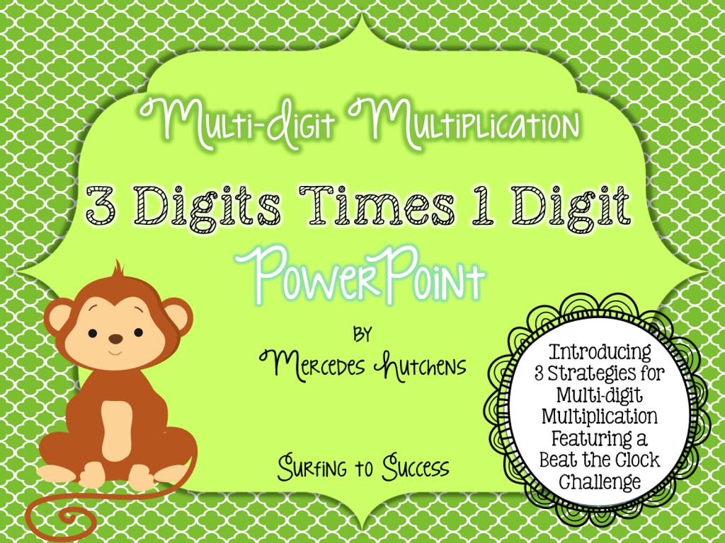 Multiplication Strategies For 3
