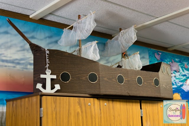 Ocean Theme: Pirate Ship