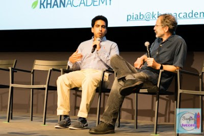 Sal Khan (Khan Academy) and Ed Catmull (Pixar and Disney) discuss Pixar in a Box.