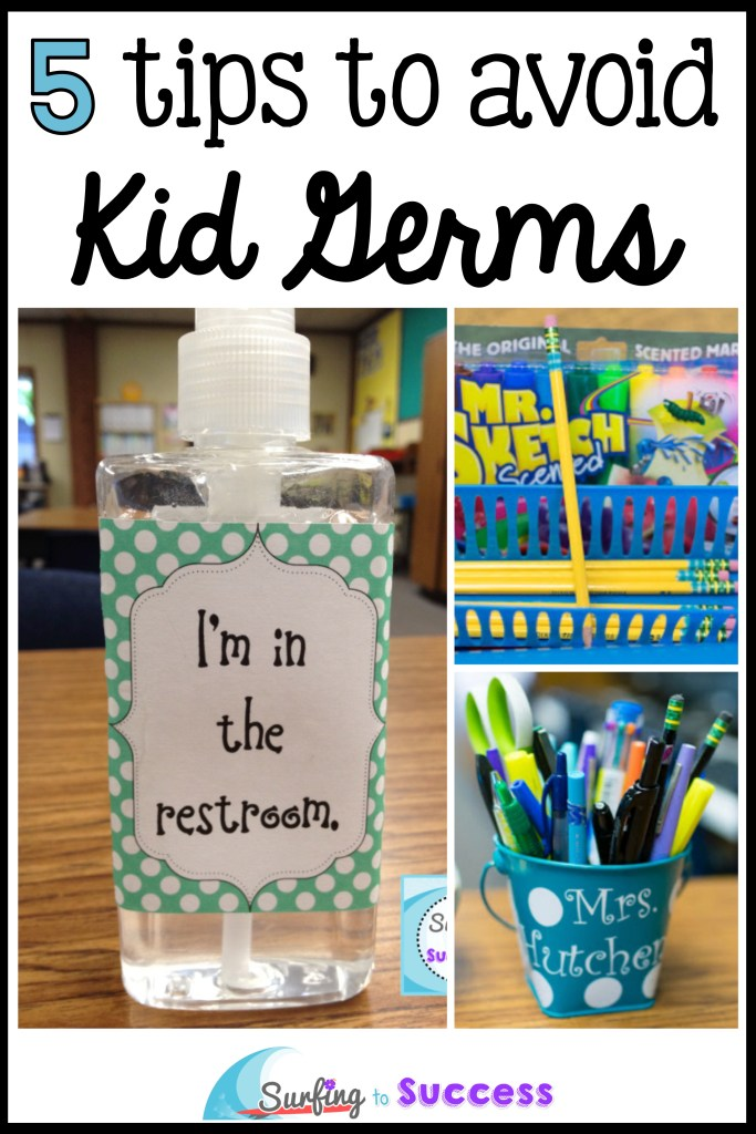 5 tips to avoid kid germs