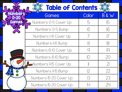 Winter Numbers to 20 Games