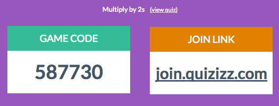Use Quizizz for quick fun assessments.