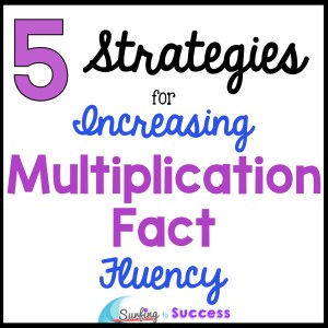 Multiplication Strategies help students understand and memorize multiplication facts.