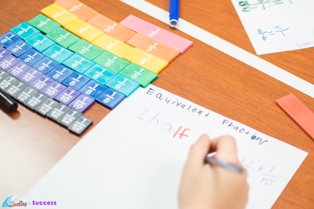 Do your students really understand fractions? Having a solid understanding of what a fraction really means begins with being able to compare fractions.