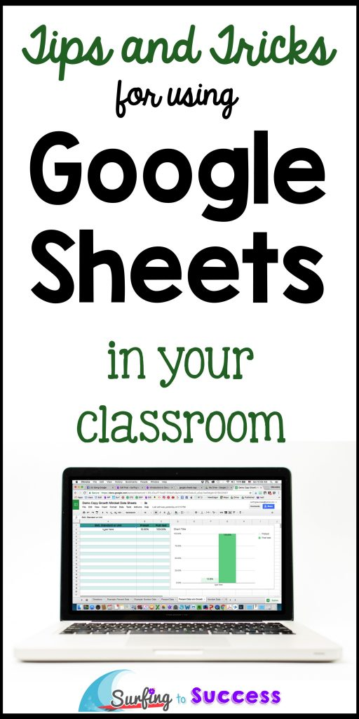 Google Sheets is free and easier to use than you might think. Let's take a look at some tips and tricks for using Google Sheets in your classroom.