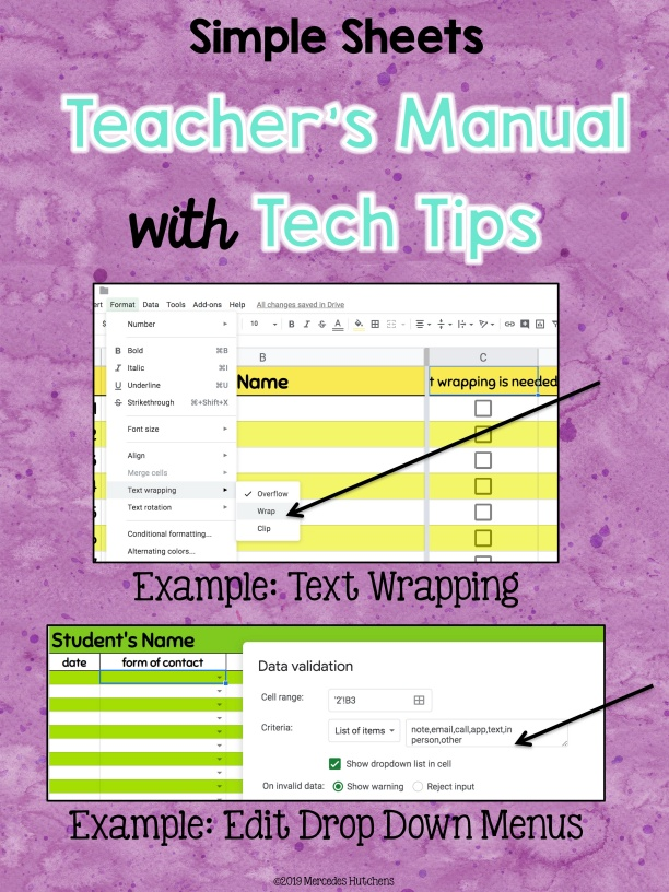 Teacher's Manual Tech Tips