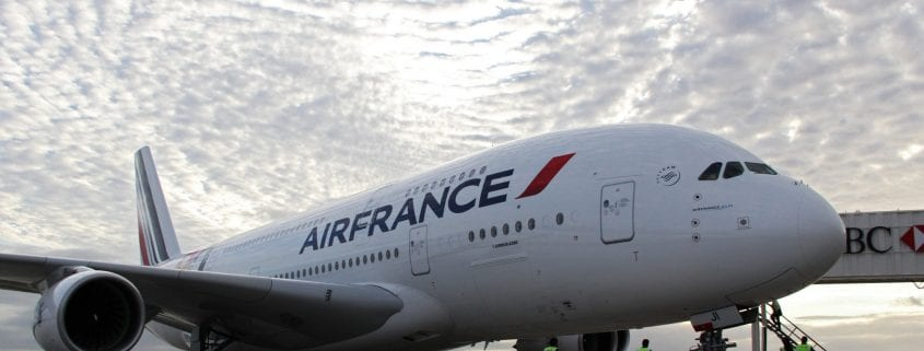 Air France plane lands in Iran on April 2016 for first time in 8 years.