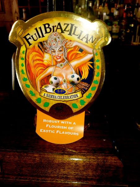 full Brazilian in the pub after