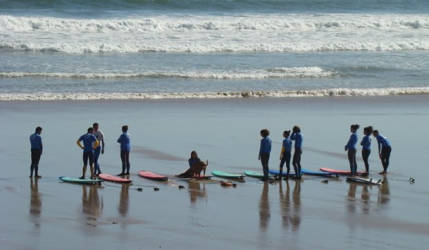 Surf camp en el Pais Vasco
