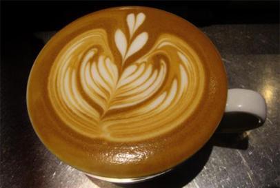 Kean coffee art
