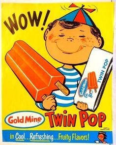 vintage twin pop poster