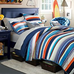 multi colored bed KS