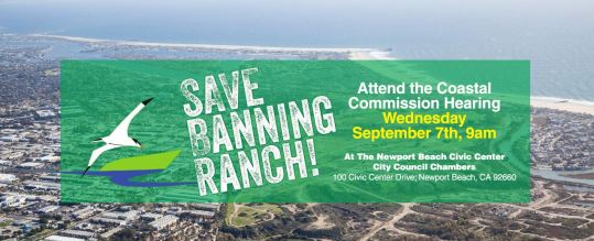 save banning ranch banner