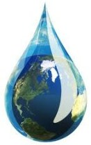 earth-water-drop