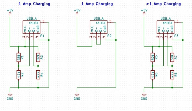 Suggestion Needed For Universal USB Port Charge