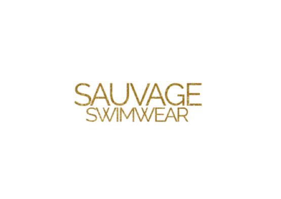 sauvageswimwear ソバージュスイムウェア ブランドロゴ 水着 ボードショーツ