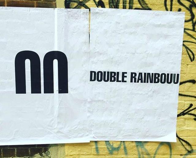 double rainbouu ダブル レインボー ロゴ
