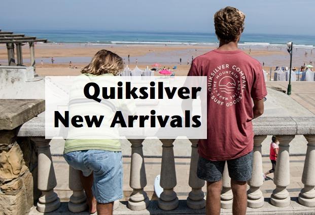 quiksilver new arrivals boardshorts